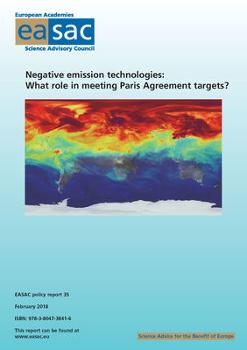 EASAC Report on Negative Emission Technology